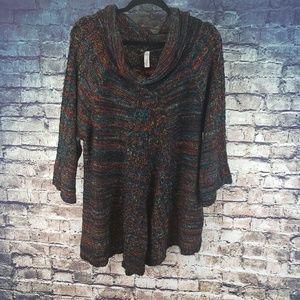 Indigo Knit Sweater